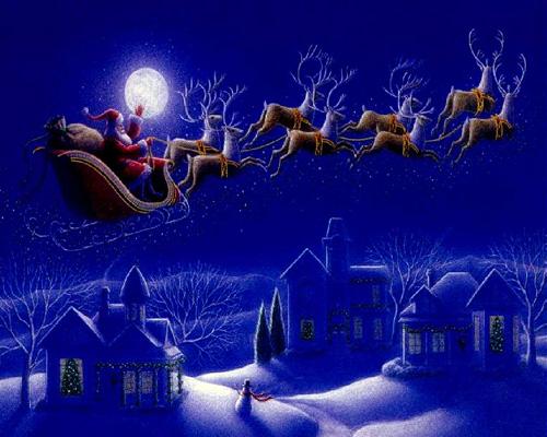 E Sarà Natale. - Pagina 3 Babbo-natale-e-renne