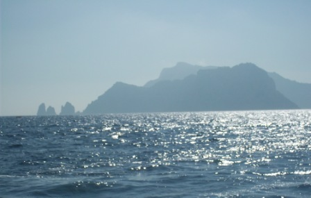 Capri dal mare