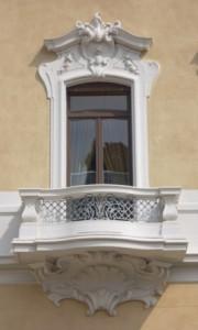 finestra villa regina Margherita