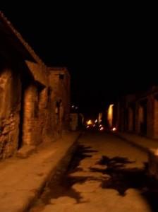 via dell'abbondanza pompei