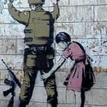 bambina e soldato