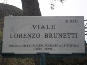viale Lorenzo Brunetti