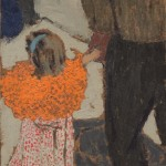 Vuillard_Edouard_Bambina con la sciarpa rossa_1891ca_Washington_National Gallery of Art