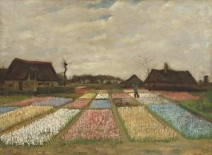 campo di tulipani di van gogh