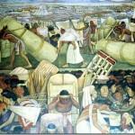 Diego-Rivera-Murales-Palazzo-nazionale-Citt à-del-Messico-giro-del-mondo-in-80-giorni
