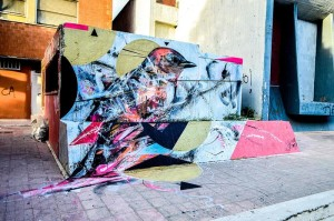 Street Art: 'Sacred Birds' L7m per la prima volta in Italia