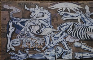 guernica ron english testaccio
